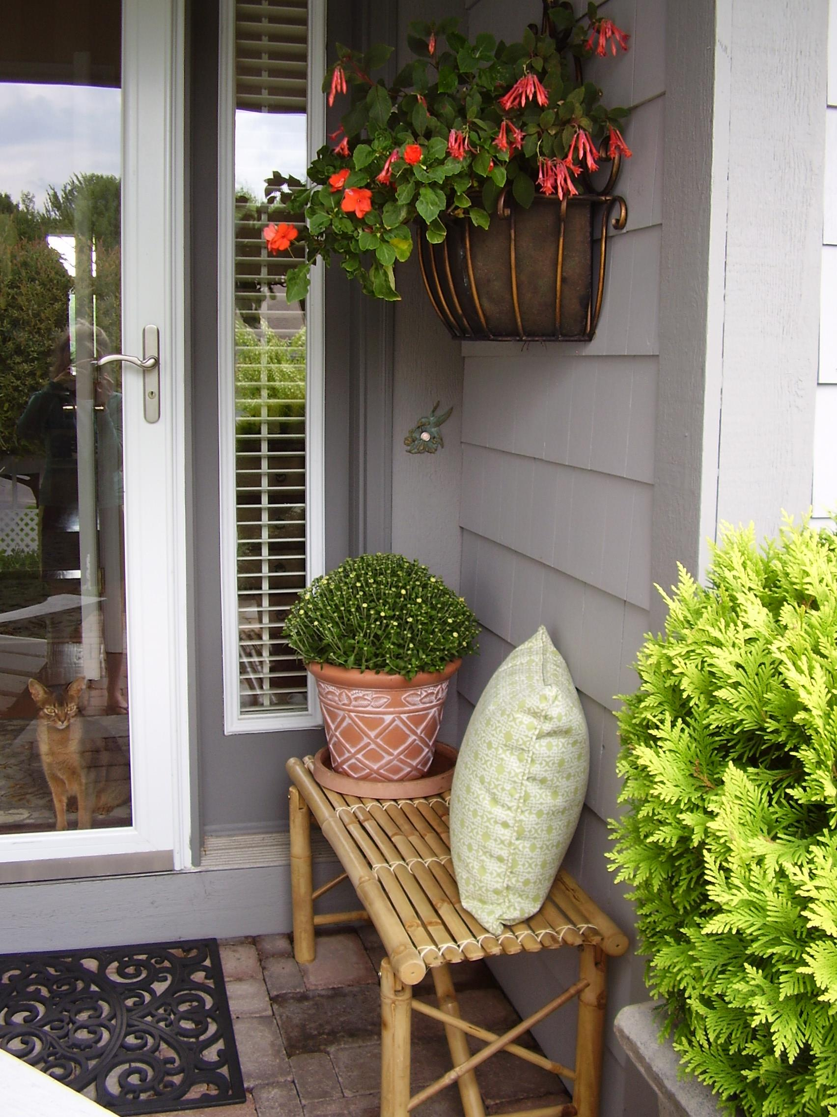 Marcia philipp 39 s blog front porches Small front porch decorating ideas for fall